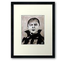 Undead Vampire Framed Print
