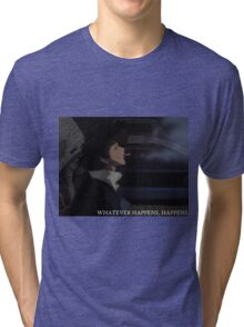 Cowboy Bebop - Whatever Happens, Happens Tri-blend T-Shirt