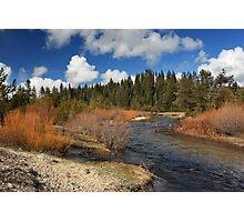 North Fork Deer Creek Photographic Print