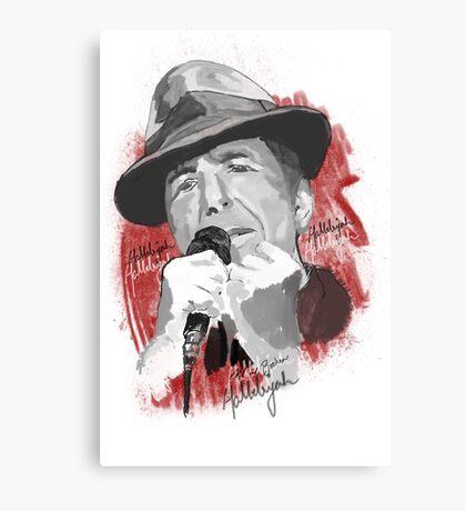 Hallelujah - Leonard Cohen Canvas Print