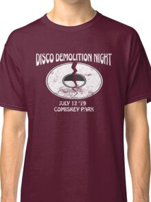 Disco Demolition Night - White Classic T-Shirt