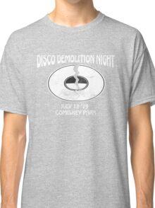 Disco Demolition Night - White Classic T-Shirt