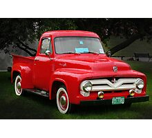 1955 Ford F100 Pick-up Photographic Print