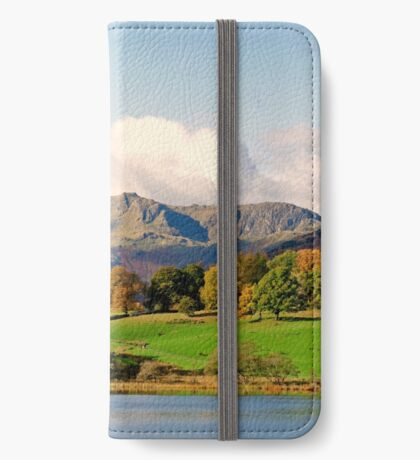 Langdale Pikes in Autumn iPhone Wallet/Case/Skin