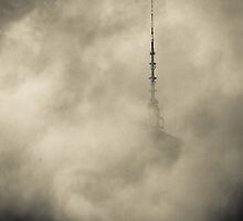 The tower in the clouds. by 10StoriesUp