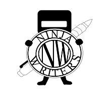 Ninja Writers Logo Photographic Print