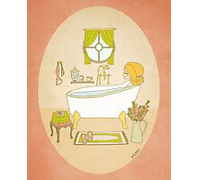 Relax - Bath Time - Me Time - Self Help Photographic Print