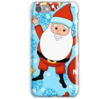funny Santa Claus  iPhone Case/Skin