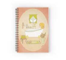 Relax - Bath Time - Me Time - Self Help Spiral Notebook