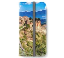 Ancient Hilltop Town iPhone Wallet/Case/Skin