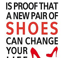 Cinderella is proof that a new pair of shoes can change your life by beakraus