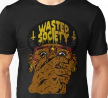 Wasted Scared Face Unisex T-Shirt