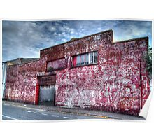 Derelict Auto Garage Poster