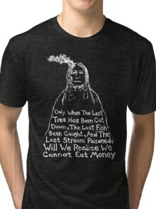 No DAPL Tri-blend T-Shirt