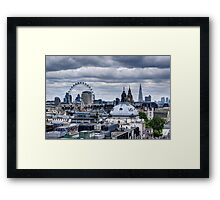 London at the Jubilee Weekend Framed Print