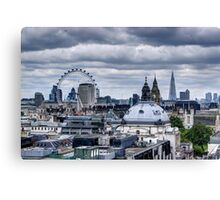 London at the Jubilee Weekend Canvas Print