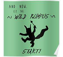 Wild Rumpus (Green) Poster