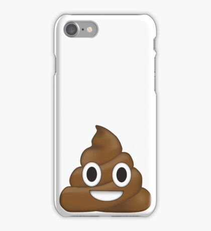 shit emoji  iPhone Case/Skin