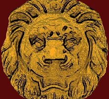 Game of Thrones: Lannister Lion Head Logo by JoCa-byJoeCarr