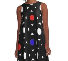 Abstract Geometry  A-Line Dress