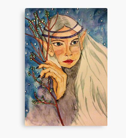 Winter Elf Canvas Print