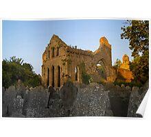 Church Ruin Poster