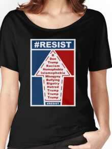 Resist Hashtag Women's Relaxed Fit T-Shirt