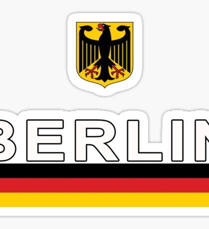 Deutschland Soccer Jersey German Eagle  Sticker