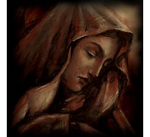Virgin Mary - Mother Mary - Prismacolor Photographic Print