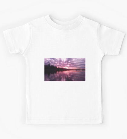 Lake Merritt Through Rose Colored Glasses Kids Tee