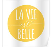 la vie est belle, life is beautiful Poster