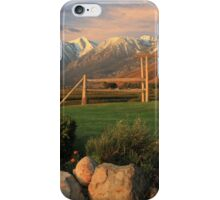 Sunrise In Carson Valley iPhone Case/Skin