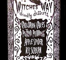 Witch Dessert Menu Halloween by MMPhotographyUK