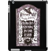 Witch Dessert Menu Halloween iPad Case/Skin