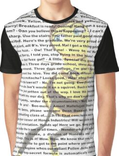 bee movies script Graphic T-Shirt