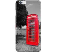 British Red iPhone Case/Skin