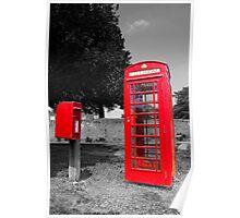 British Red Poster