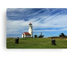Cape Blanco Lighthouse Above The Rope Canvas Print