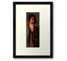 REALLY, IT'S FAUX FUR   ... Framed Print