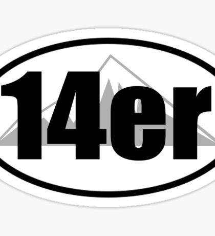 14er Sticker