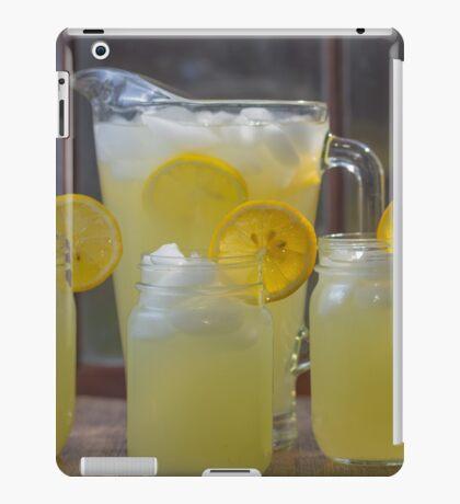 Fresh lemonade iPad Case/Skin