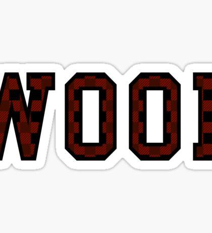WOOF! Sticker