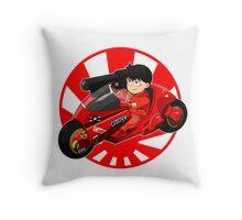 AKIRA - 'Kaneda and Bike' Throw Pillow