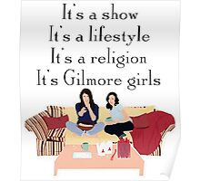 It's Gilmore girls Poster