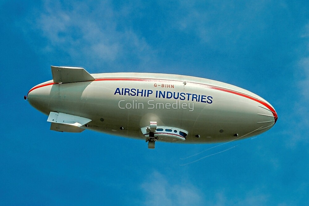 Airship Industies' Skyship 500-02 G-BIHN  by Colin Smedley
