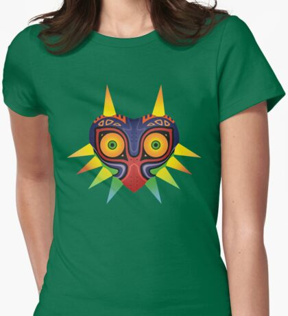 The Mask of Majora Womens Fitted T-Shirt