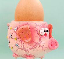 Pig Eggcup by MMPhotographyUK