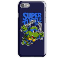 Super Turtle Bros - Leo iPhone Case/Skin