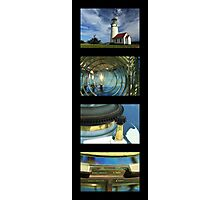 Cape Blanco Lighthouse Tetraptych - P Photographic Print