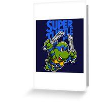 Super Turtle Bros - Leo Greeting Card